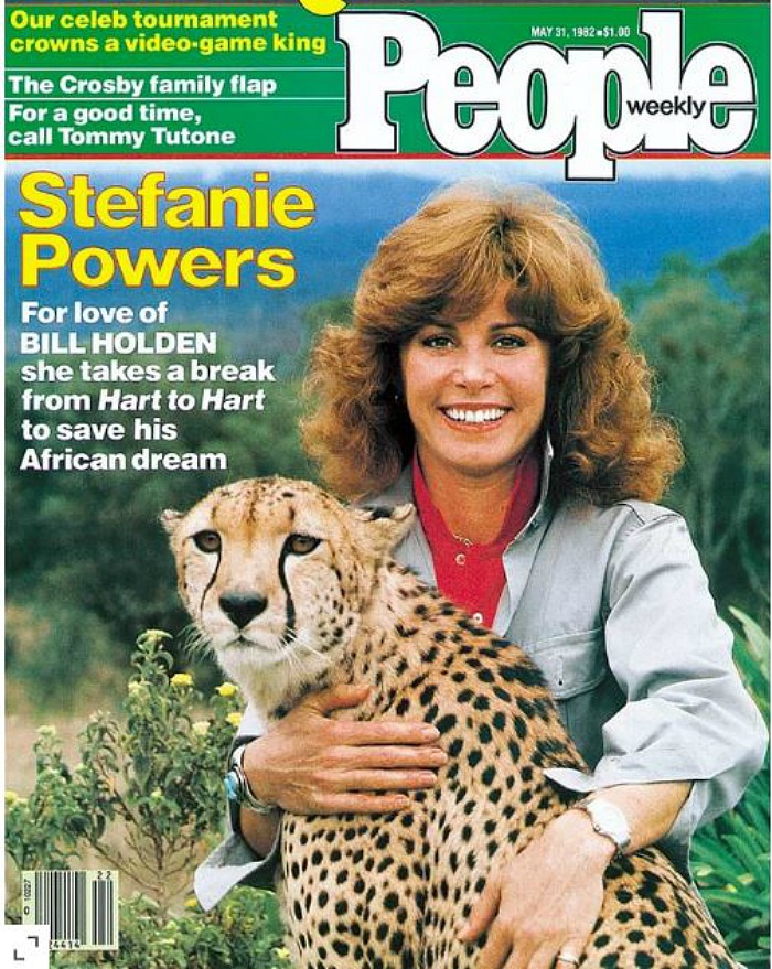 Stefanie Powers People Magazine cover 1982