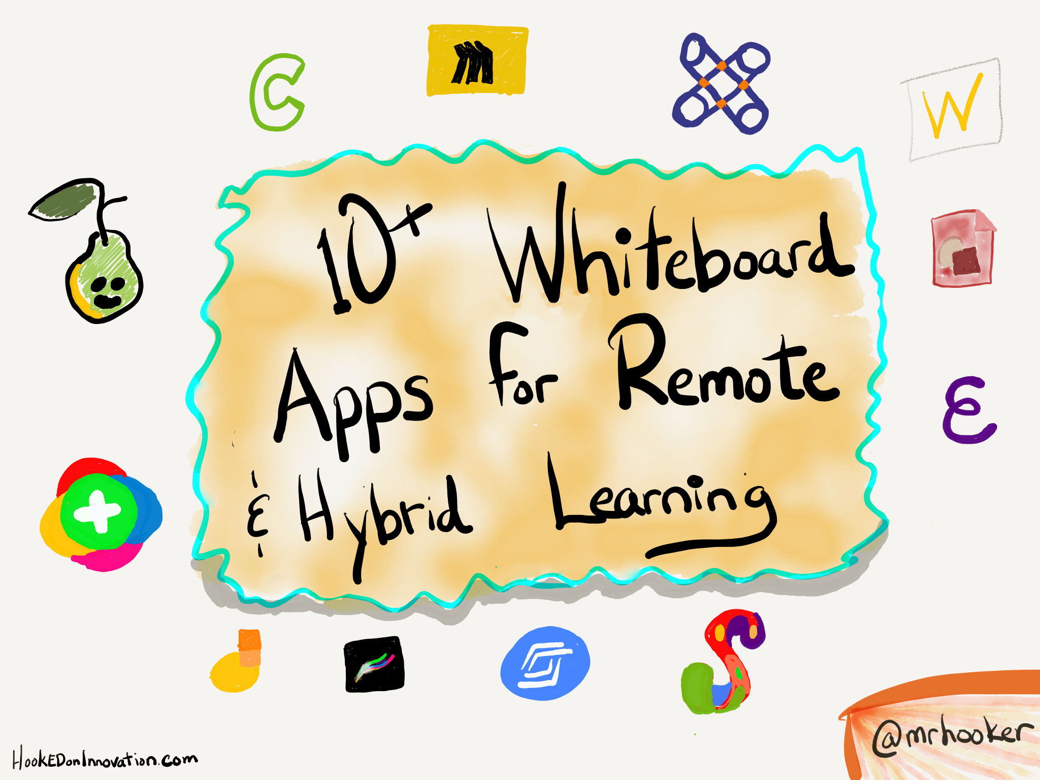 10+ Whiteboard Apps for Remote/Hybrid Learning - Hooked On Innovation