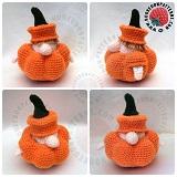 Pumpkin Gonk Outfit Crochet Pattern