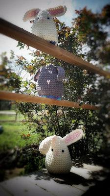 Easter Eggs Flips - Crochet Pattern competition