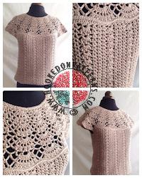 Crochet Patterns to Wear - Blouse