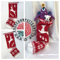 Christmas Stocking Crochet Pattern