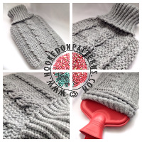 Crochet patterns for home - Cozy Cable Cover Pattern
