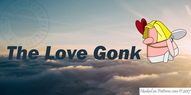 free crochet gonk - Cupid Gonk