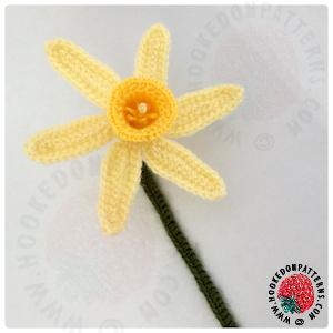 Spring Daffodils Free Crochet Pattern