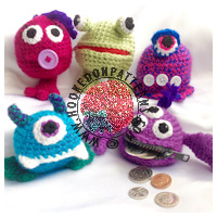 Crochet Patterns for Kids - Coin purse