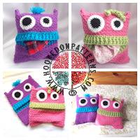 Crochet Patterns for Kids - Pyjama Cover