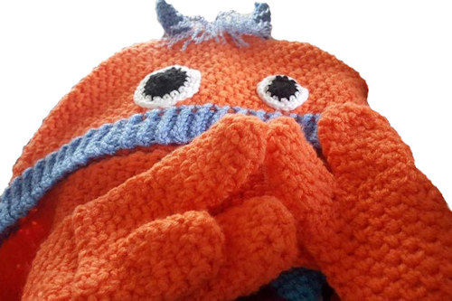 Crochet Blog Examples - Snuggle Monster Crochet Pattern