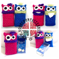 Crochet Patterns for Kids - Tissue case