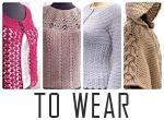 Modern Crochet Patterns To Wear