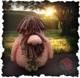 Free gonk crochet patterns - Becoming Santa Gonk free crochet patterns