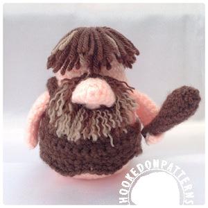 Caveman gonk free crochet pattern