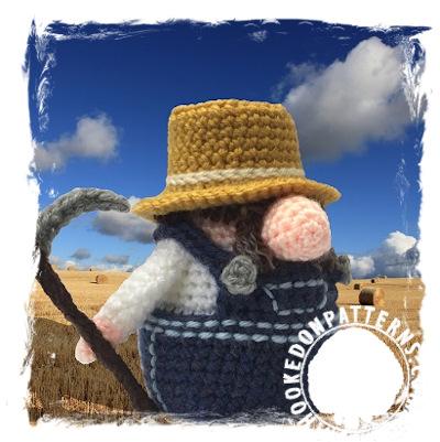 Farmer Gonk free crochet pattern