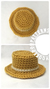 Farmer Hat free crochet pattern