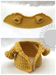 Fisherman jacket free crochet pattern