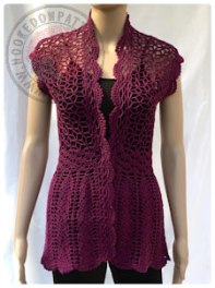 006bbadbfd Lace Cardigan Crochet Pattern - Flory - Hooked On Patterns