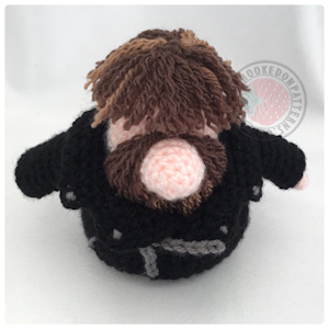 Leather Jacket free crochet pattern