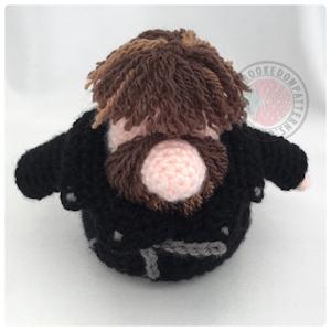 Leather Jacket free crochet pattern