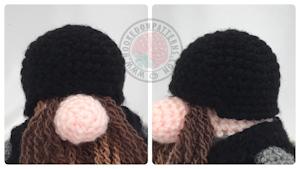 Helmet free crochet pattern