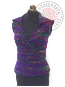 Hooded Vest Crochet Pattern