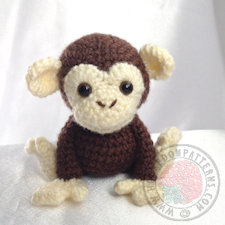 Maurice the Monkey Crochet Pattern