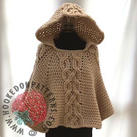 Hooded Poncho Crochet Pattern