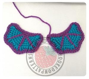 Free wings crochet pattern