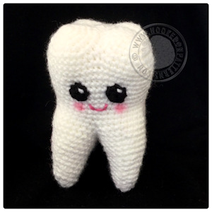 Tooth crochet | Crochet, Crochet toys patterns, Free crochet | 300x300