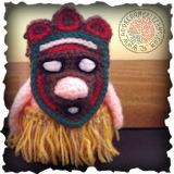 Tribal Gonk Crochet Pattern