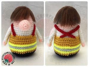 Fireman Gonk free crochet pattern