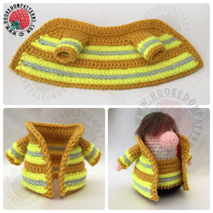 Fireman Gonk Free Crochet Pattern Jacket