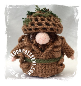 Top 5 Gonks - Army Crochet Pattern