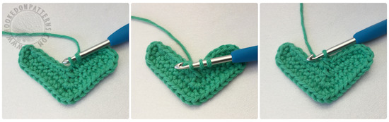 Free crochet coaster pattern - Heart Shaped