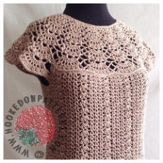Bellissa Tucked Hem Crochet Pattern