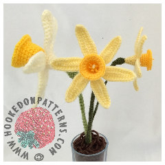 Daffodils Free Crochet Pattern