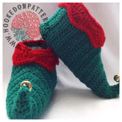 Elf Shoes Crochet Pattern