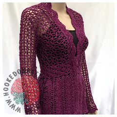 New Crochet Patterns - Lace Cardigan Crochet Pattern