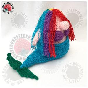 Mermaid Tail Free Crochet Pattern