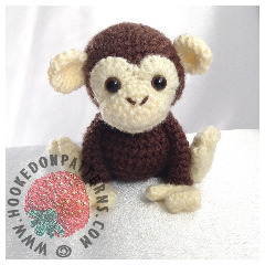 New Crochet Patterns - Monkey Amigurumi Crochet Pattern
