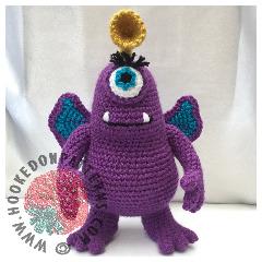 Purple People Eater Free Crochet Pattern
