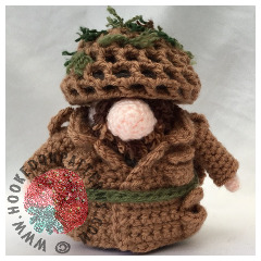 Soldier Doll Free Crochet Pattern