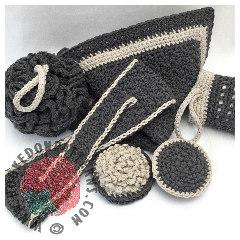 Bathroom Set Crochet Pattern
