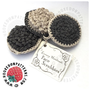 Face Scrubbies Crochet Pattern