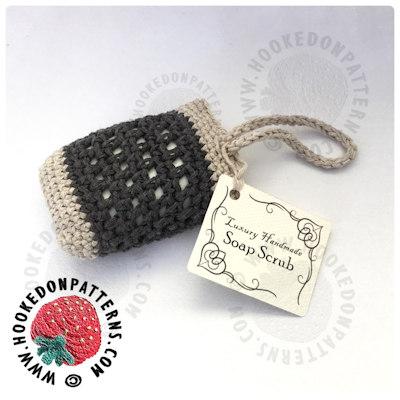 Free Crochet Soap Scrub Pattern