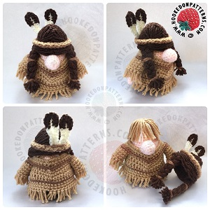 Native Gonk Outfit Crochet Pattern