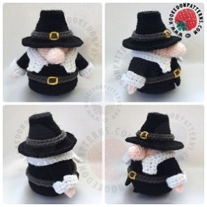 Pilgrim Gonk Outfit Crochet Pattern