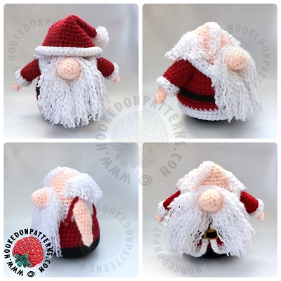 Santa Gonk Outfit Free Crochet Pattern Hooked On Patterns