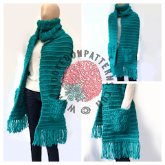 Free Crochet Scarf Pattern Super Chunky