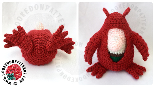 Free Crochet Dragon Pattern Outfit For Gonk Hooked On Patterns