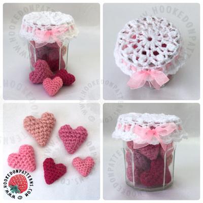Jar of Hearts Crochet Pattern